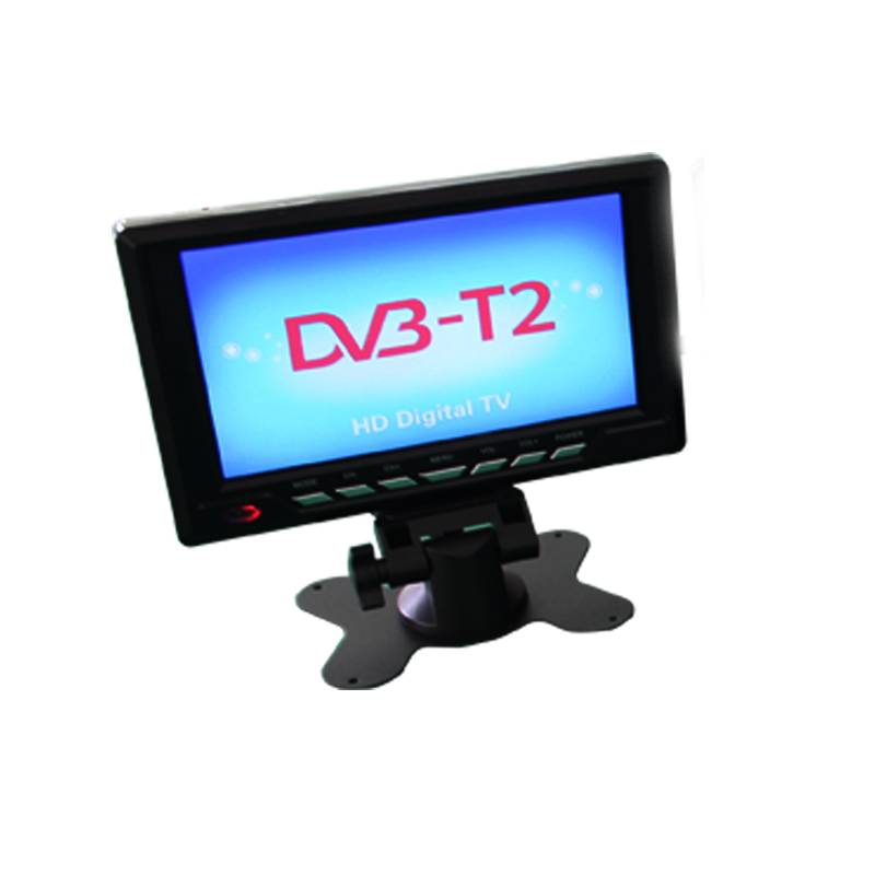 120-150km/h portable dvb t2 led tv for car use built-in FM function