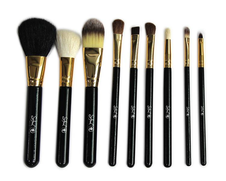 Sofeel wholesale makeup brush set natural animal hair bamboo