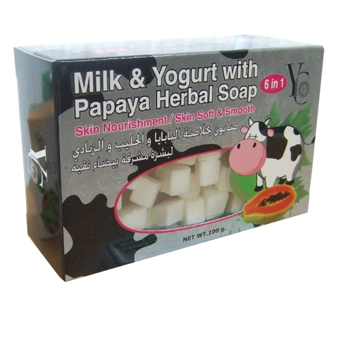 Soap Milk&Yogurt with Papaya Herbal Soap