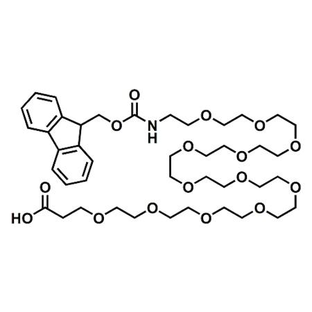 Fmoc-PEG12-propionic acid;Fmoc-NH-PEG12-CH2CH2COOH;CAS#756526-01-9