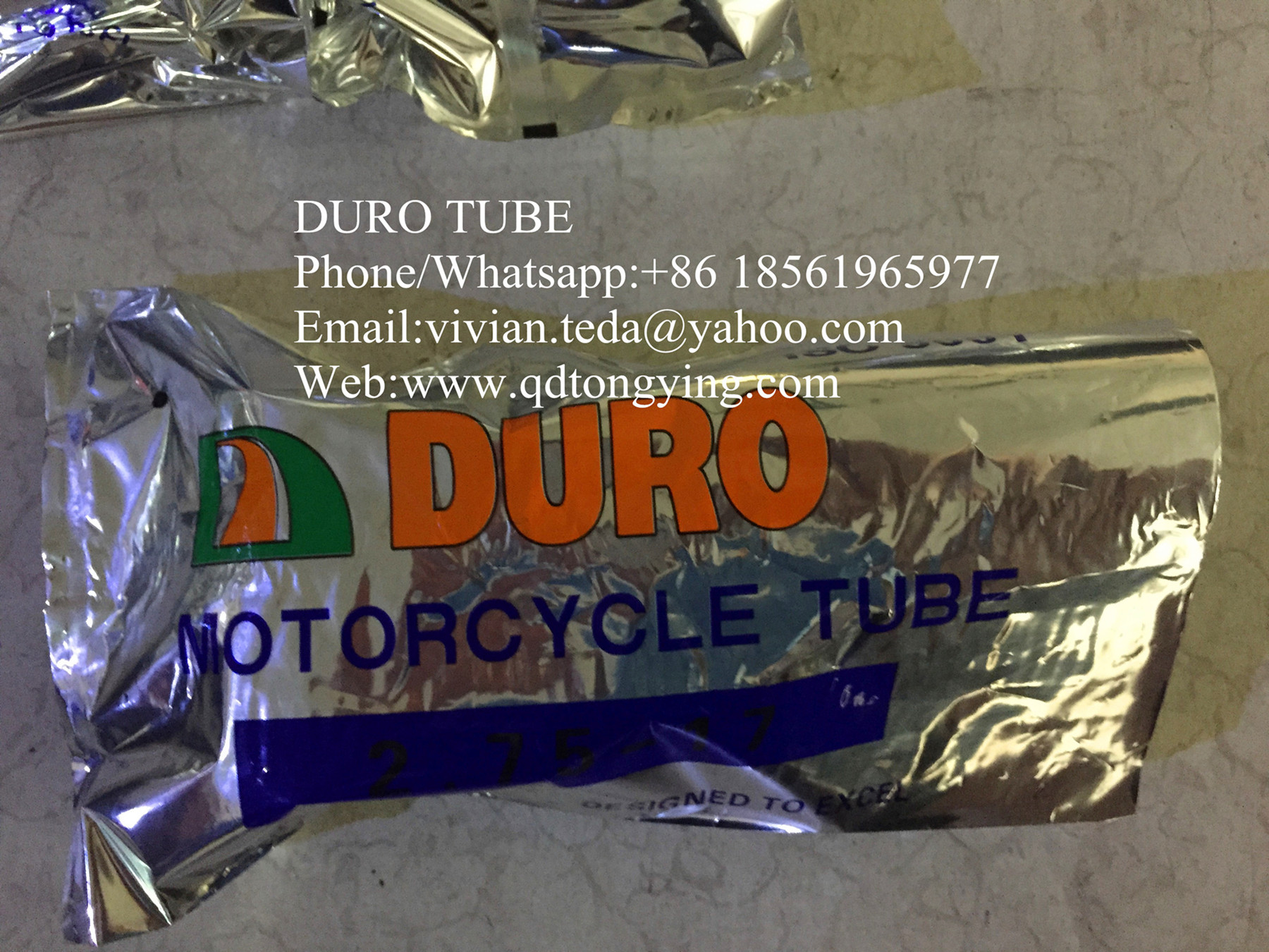 DURO natural rubber tube