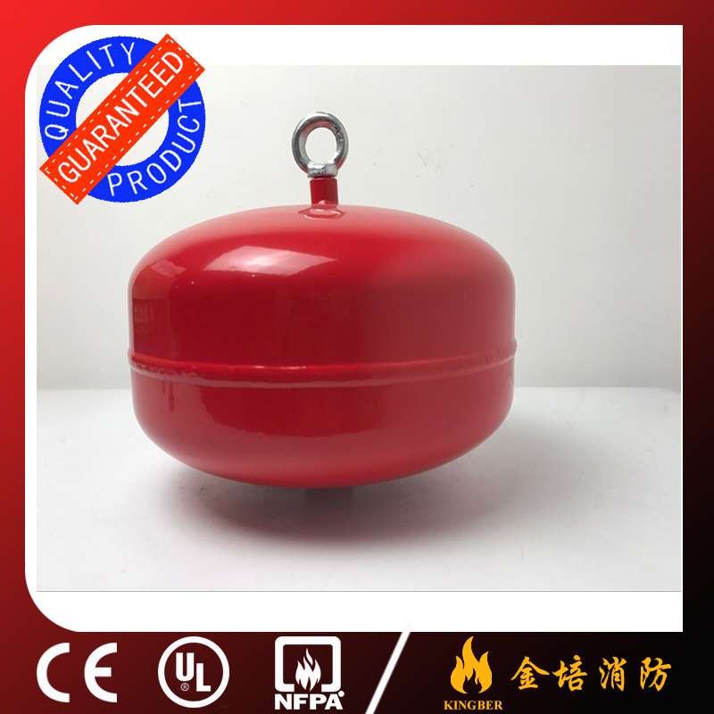 12KG Cold-Roll Steel ABC40 Dry Powder Automatic Fire Extinguisher for Warehouse Using with ISO