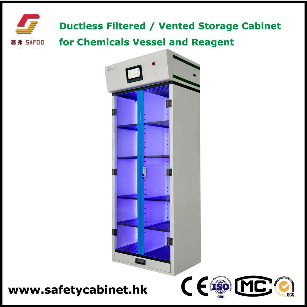 Ductless Filtered Chemicals Storage Cabinet