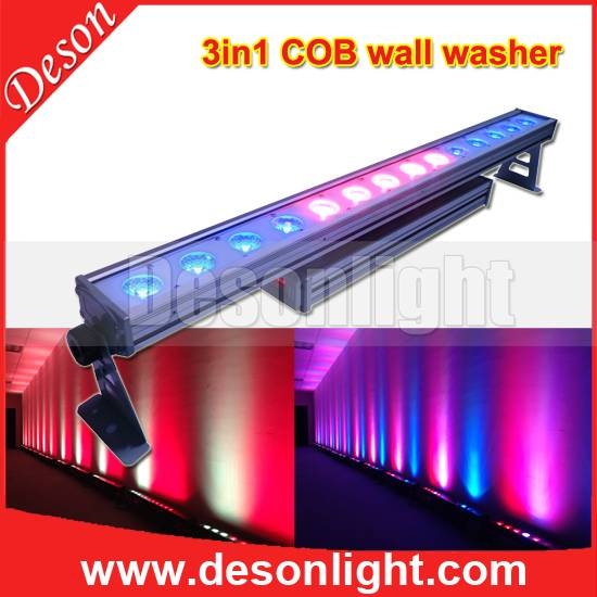 14x30W 3in1 triple COB LEDs colorful Waterproof LED background wall washer lighting  LW-1430