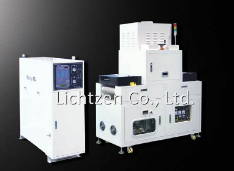 Nitrogen purge UV curing machine
