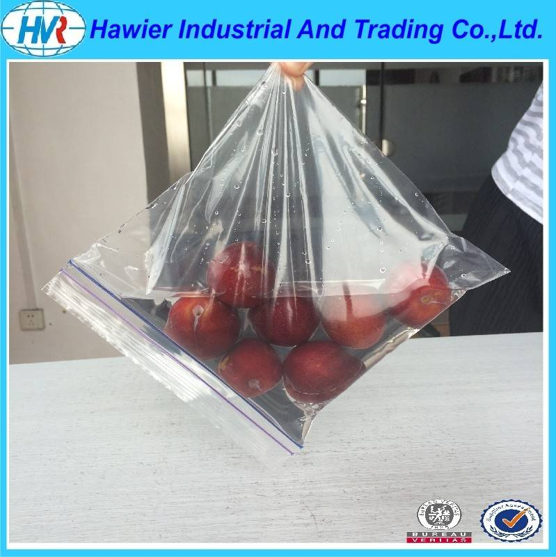 10x12inch LDPE colored zip bags double track resealable plastic bags