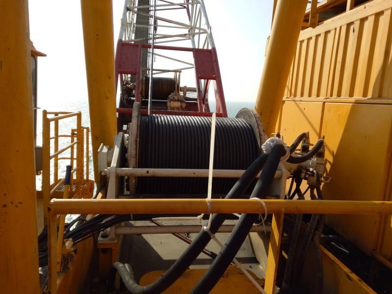 lebus groove offshore platform marine winch
