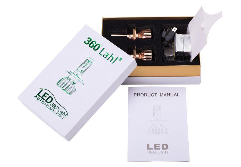 LED Car Headlight H1, H3, H4, H7, H11, 9005, 9006, 9012, D1s, D2s, D3s, D4s COB LED Headlight