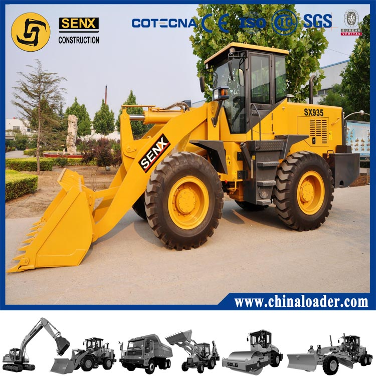 China cheap wheel loader SX935 with best quality SENX brand