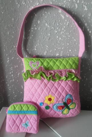 quilted kid's handbag