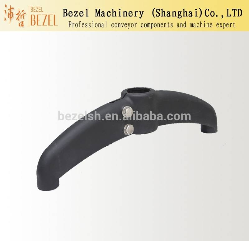 Conveyor support plastic bipods support base