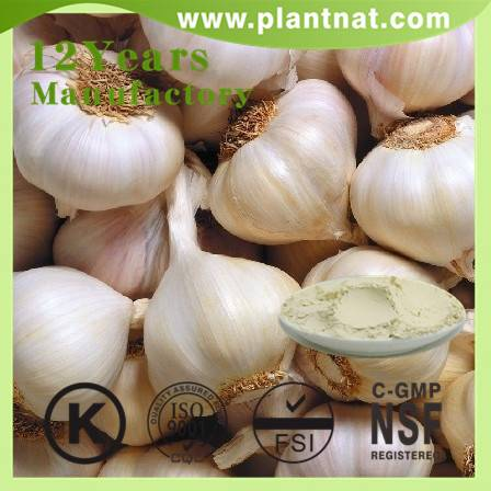 1% 2% 3% Allicin/ Garlic Powder Garlic Extract