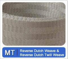 Reverse Twill Dutch weave wire cloth