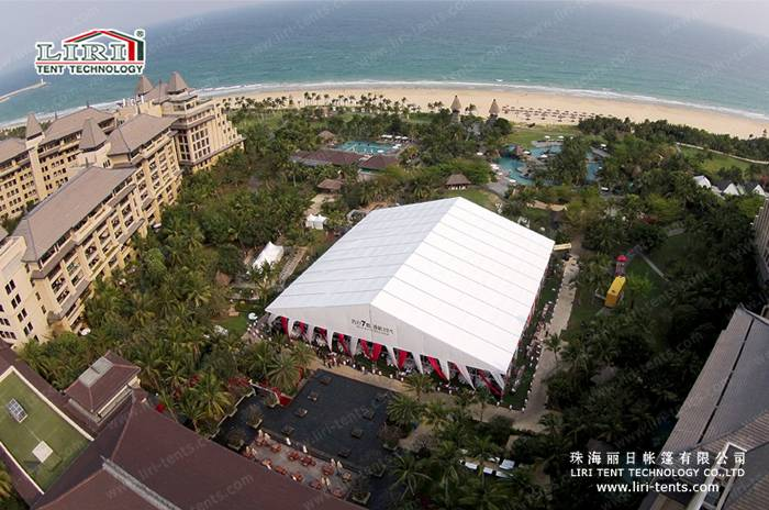 50x50m Luxury Tent for 3000 People Weddings and Parties