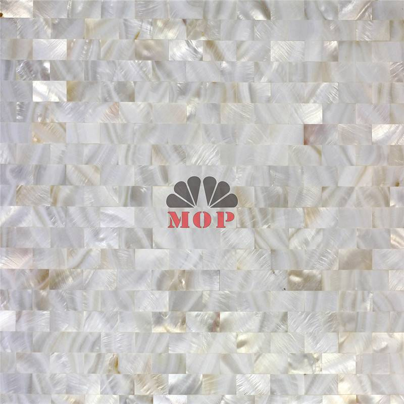 customized wall mosaic mother of pearl tile