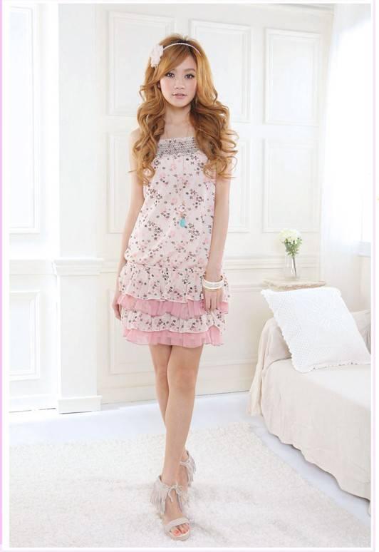 Elegant Attractive Lace Cotton Dress