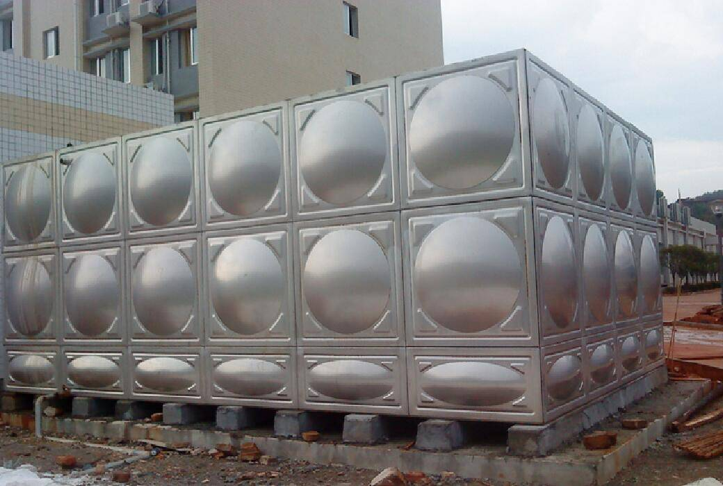 Welded Type Stainless Steel Water Tank for Drinking Water
