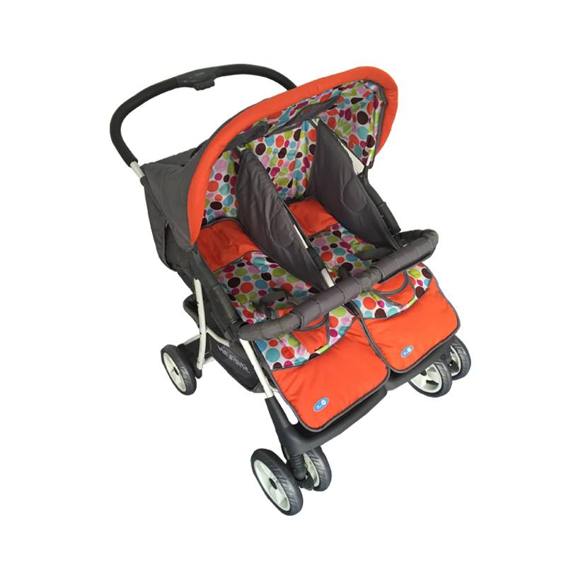 2016 new design recline tandem stroller umbrella baby stroller