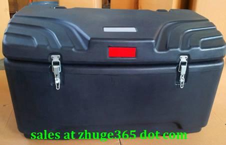 250Litre Durable One-piece Rotomolded Black ATV Rear Box   Quad Case for CFMotor LINHAI Honda