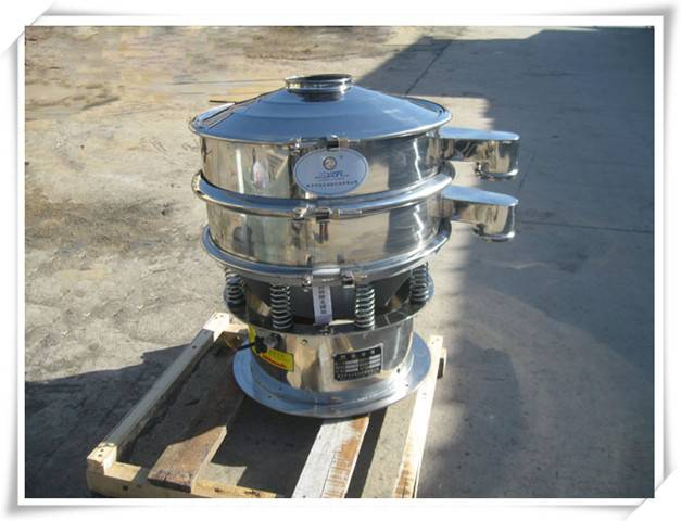 stainless steel hot vibration screening grader drum sifter