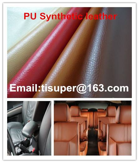 PU leather used in car interior upholstery