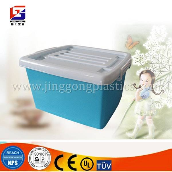 plastic storage box/container with wheels