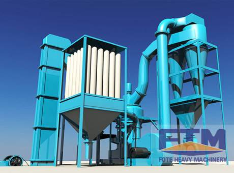 Talc Powder Grinding Mill In China/300tons Quick Active Lime Powder Production Line
