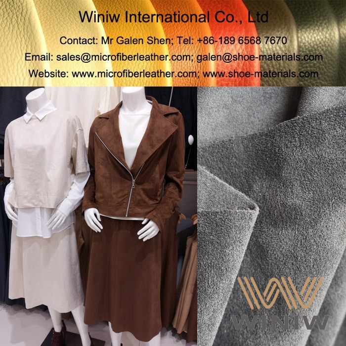 High Quality Microfiber Suede Fabric for Apparel & Garments