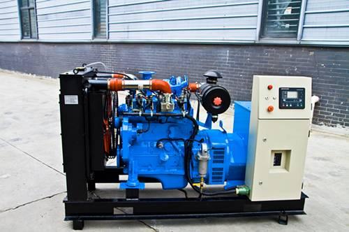 Gas generator set 36KW, 50/60Hz biogas, biomass