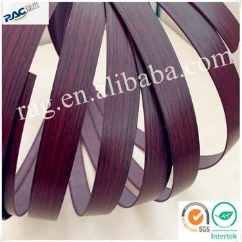 PVC wooden grain edge banding