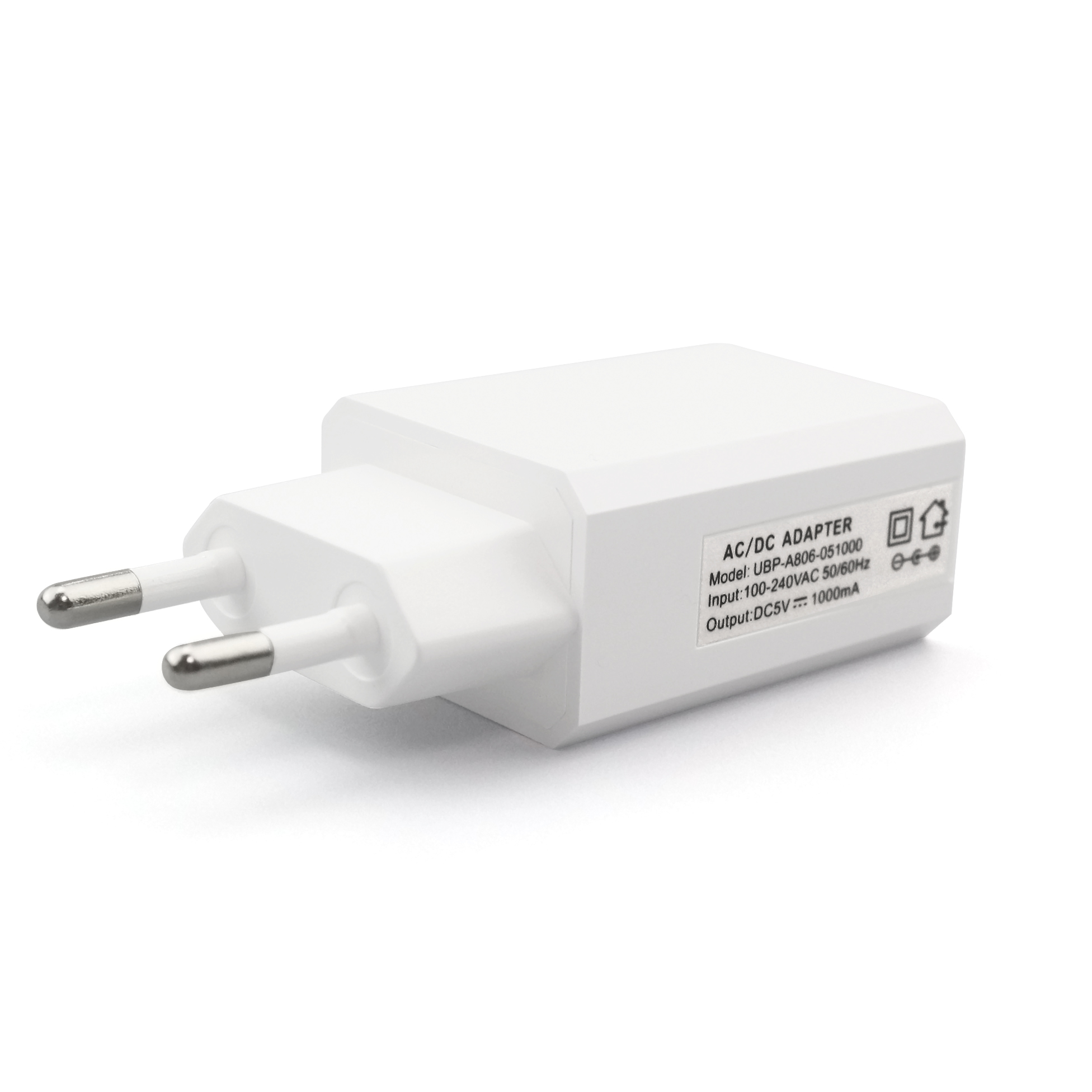 5V1A AC Universal Mobile USB Travel Charger