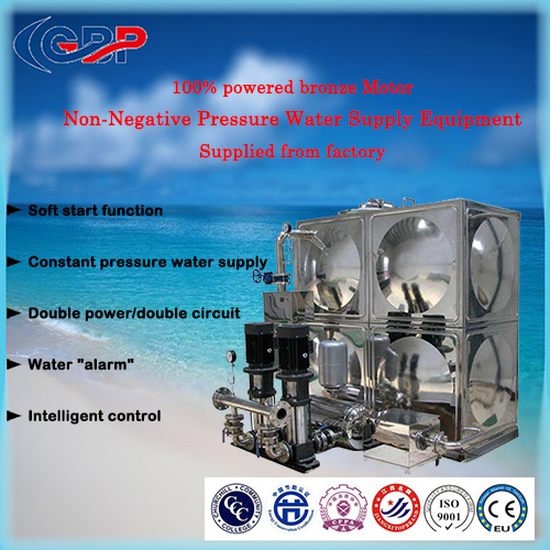 Non-Negative Pressure Water Supply Equipment 12-8-111-2
