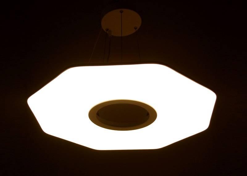 High Efficiency Octagon Pendant Light 20W / 36W 85V - 265V EDISON SMD