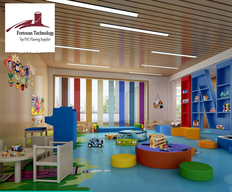 Education corporate use high quality Luxury Vinyl Tile & Plank