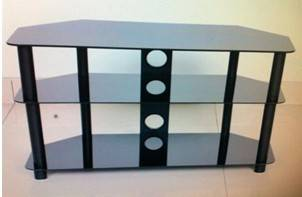 Multifunctional Glass TV Cabinet