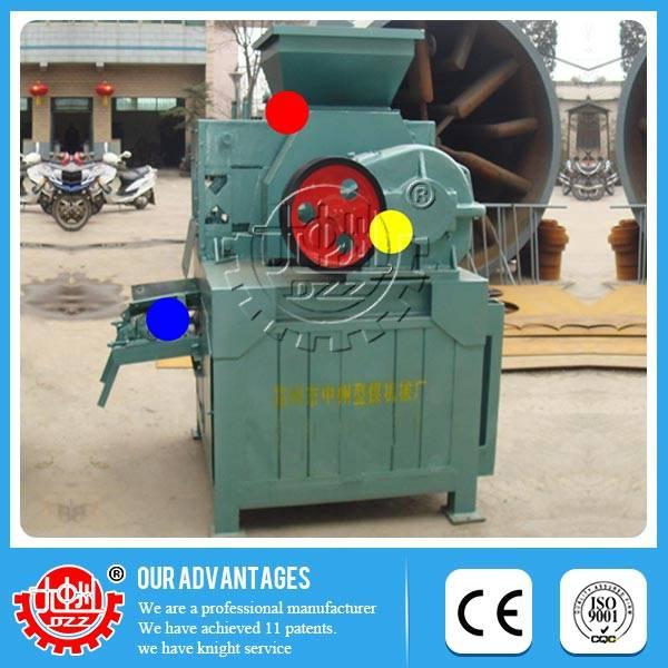 Latest technology Low price high efficient coal briquette machine