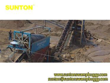 300m3/hr Sand Screening Machine