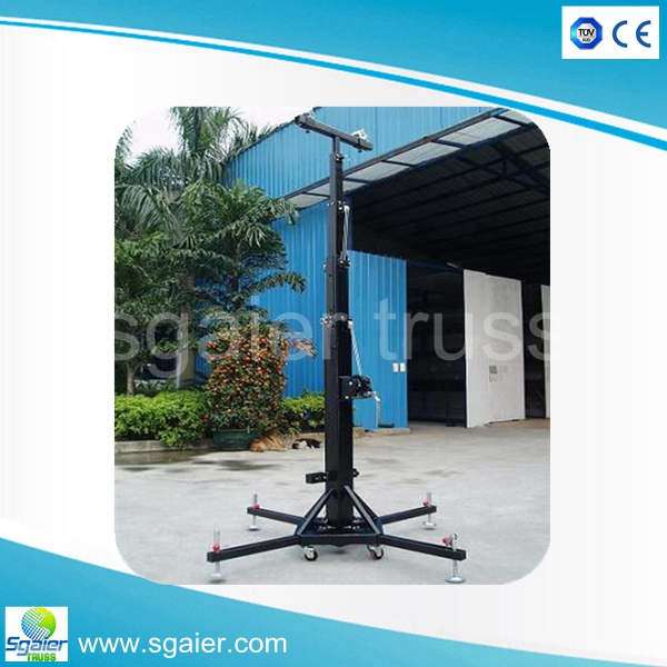Sgaier crank stand with lighting stand speaker truss