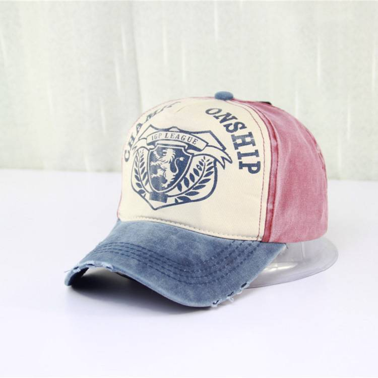 Hot Sale Fashion Vintage Denim Fabric Baseball Cap Cowboy cap