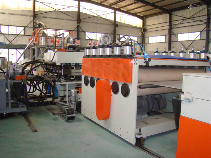 pp corrugated /fluted/coroplast sheet machine /extrusion line