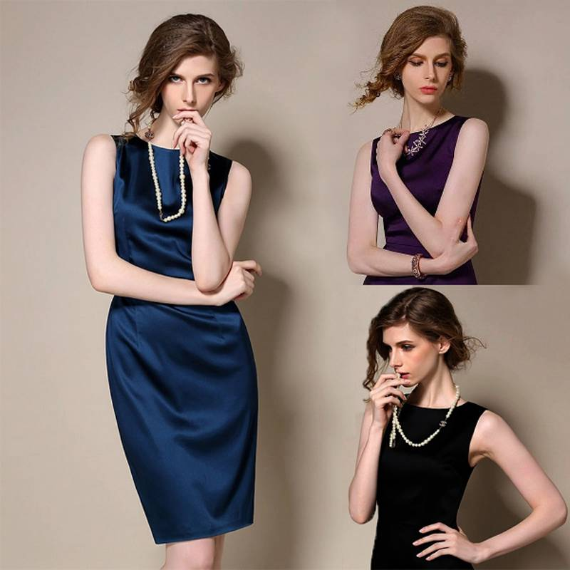 Top Grade Elegant Temperament Women Dress 2015 Slim Fashion Dress