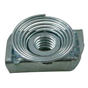 Serrated Nut with Rigon Type Spring