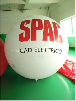 200cm inflatable sky ball for promotional with printing