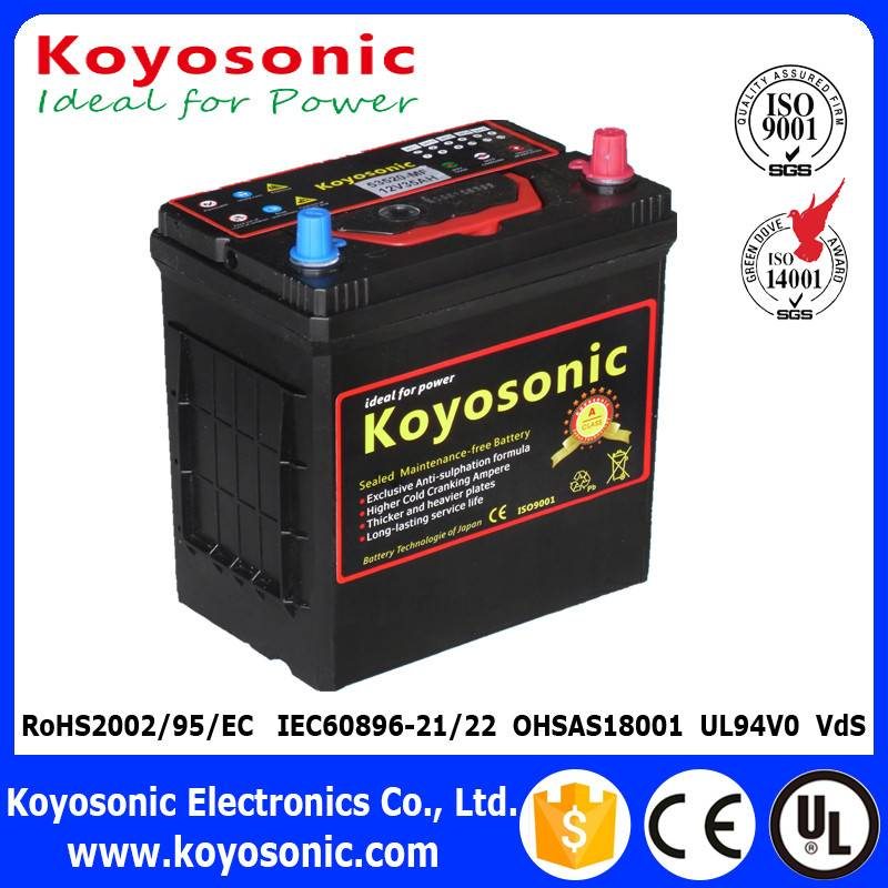 12V 35AH 53520 DIN Sealed Maintenance Free Battery Car/Automobile/Automotive Battery