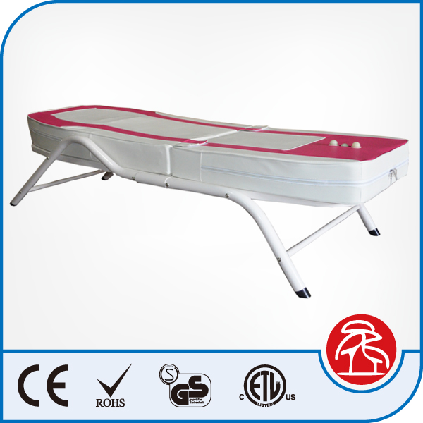 Korea Hot Sale High Quanlity Eletric Iron Jade Stone Roller Thermal Massage bed