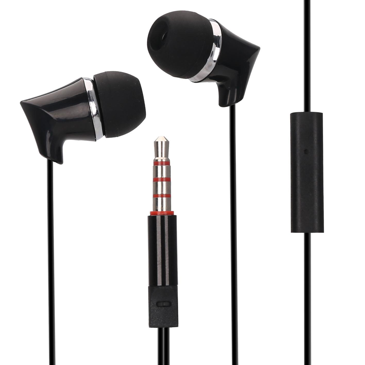 Best Earbud Headphones With Mic And Line Control Noise Isolating
