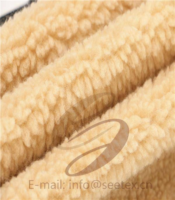 Sherpa faux fur/ fake fur