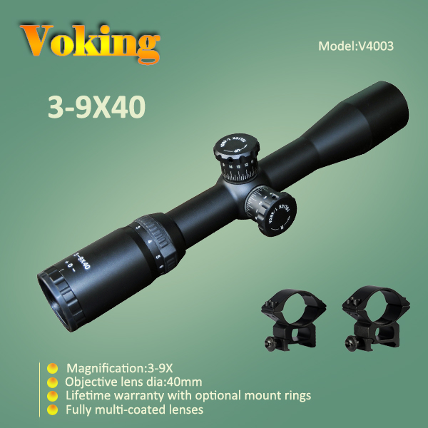 Voking 3-9x40 magnifier scope with your own APP