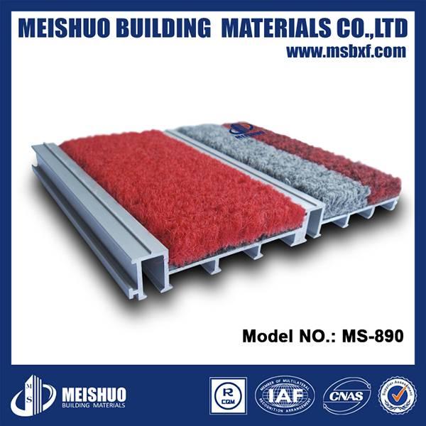 Interlocking aluminum entrance door mats