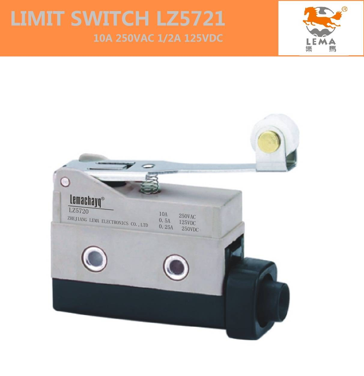 LZ5121 Long roller lever limit switch